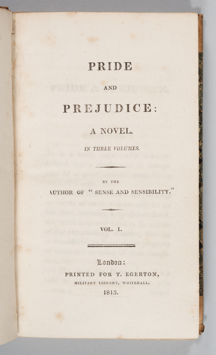 Pride and Prejudice-titlepage