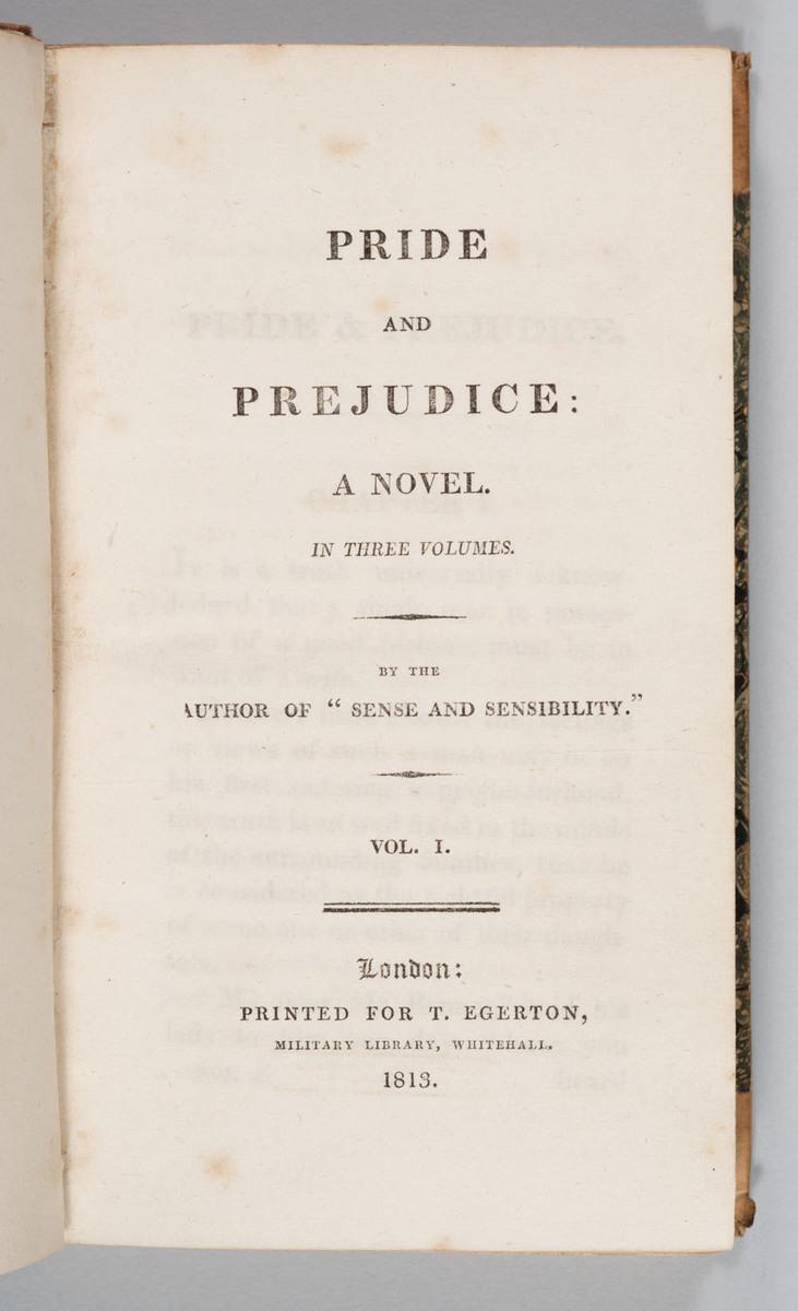 Pride and Prejudice-titlepage