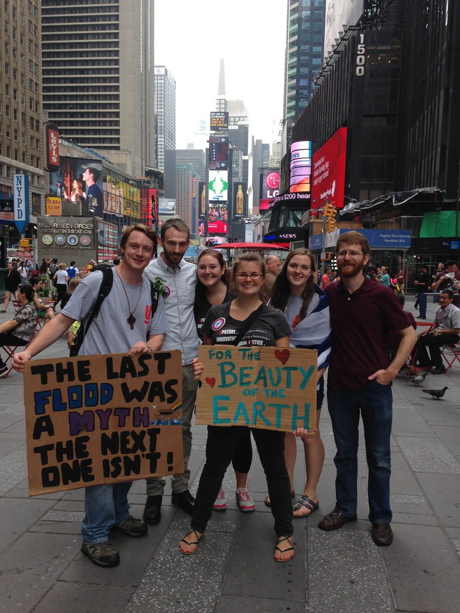 Union Students at the People's Climate March