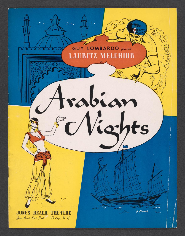 Guy Lombardo presents Lauritz Melchior in Arabian Nights : Cover