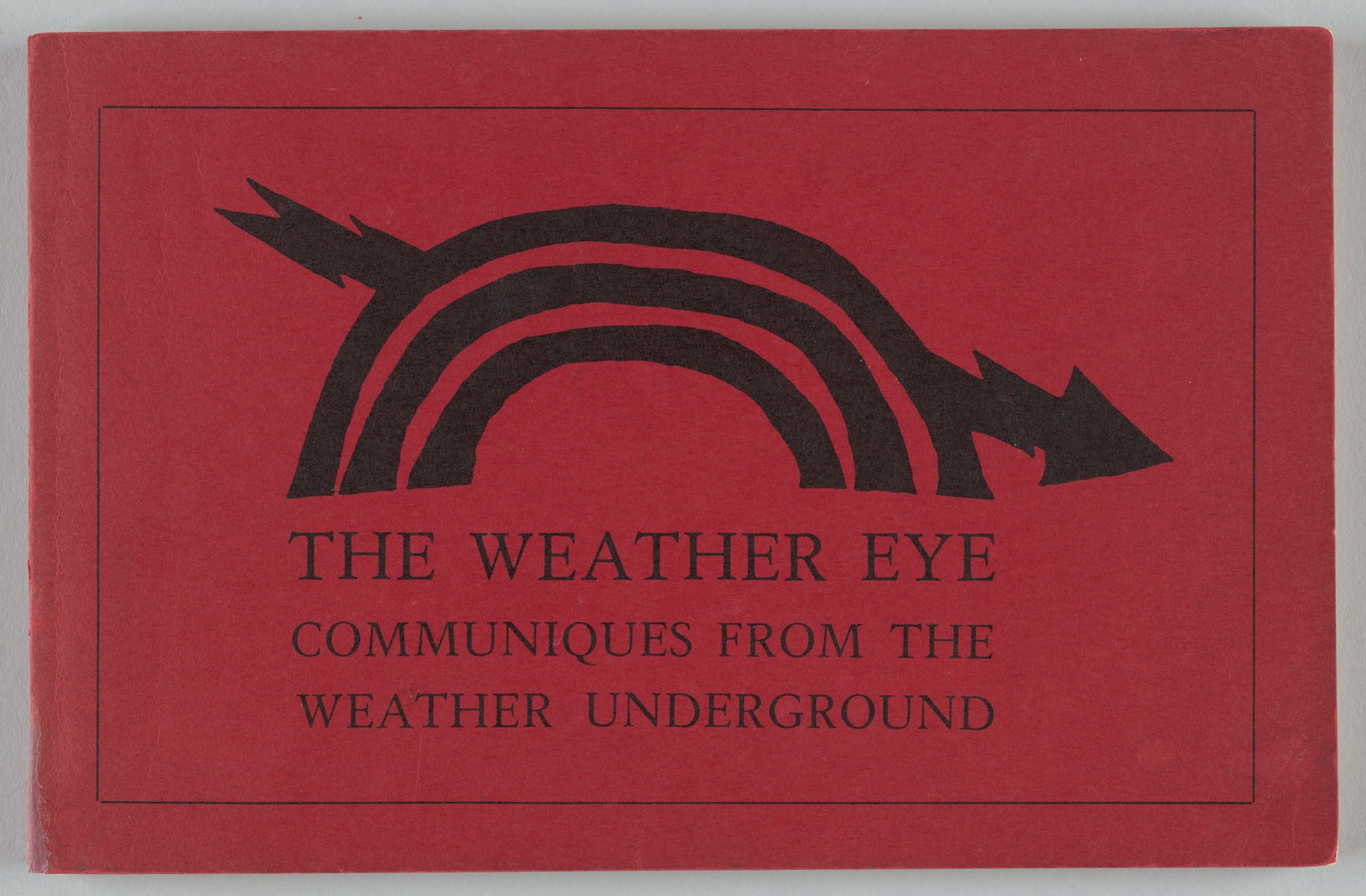 The Weather Eye, Front Cover
