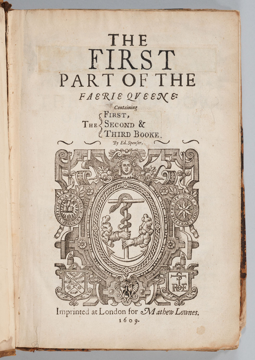 Faerie Queene, Title page