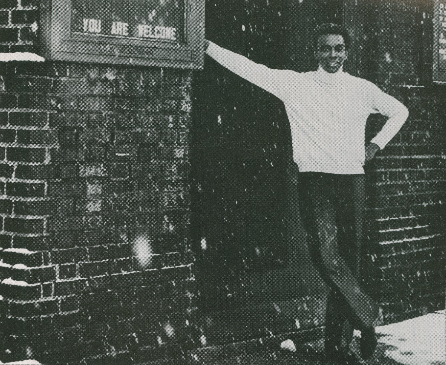 Arthur Mitchell at Church of the Master from Dance Theatre of Harlem Souvenir Program
