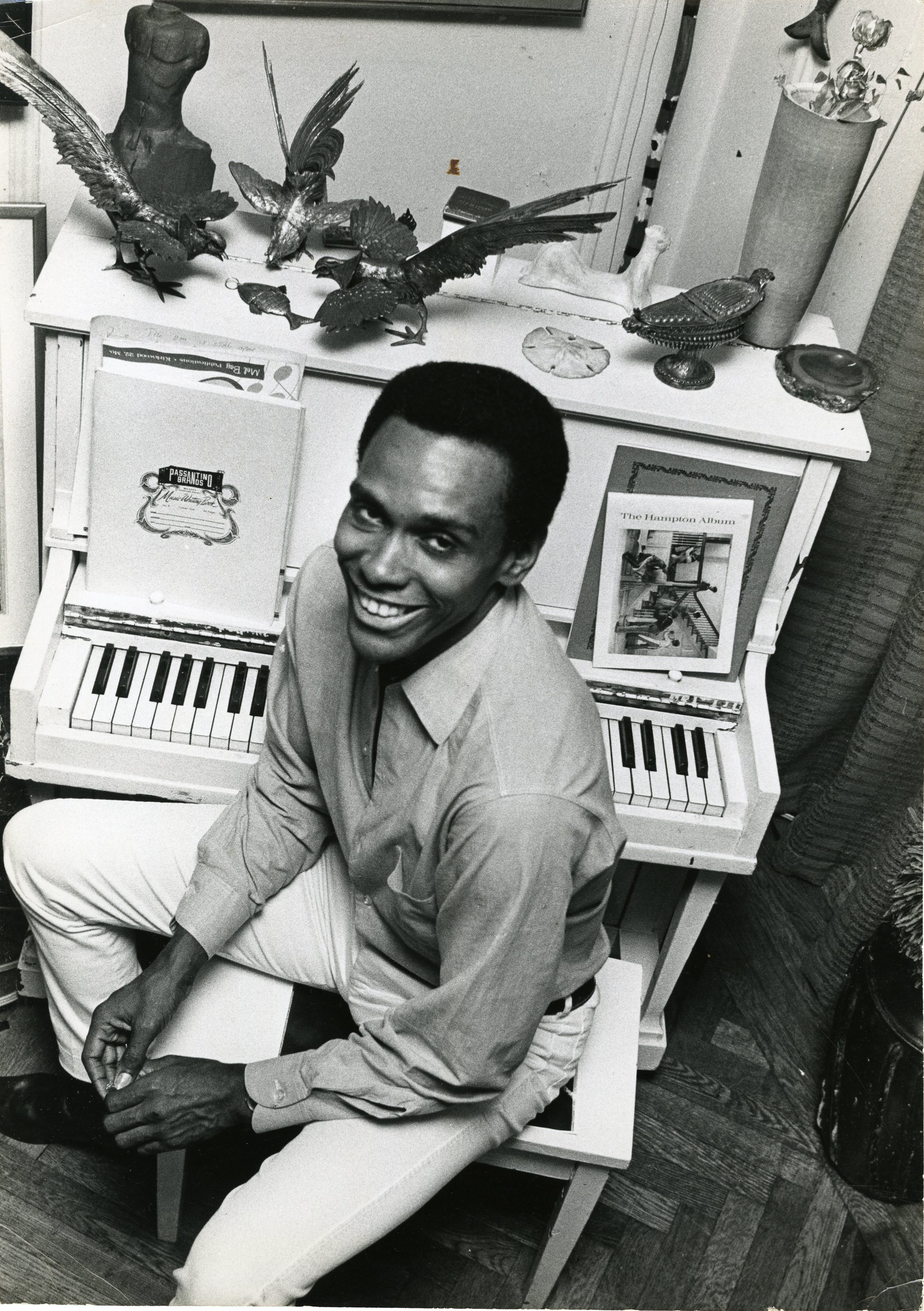 Arthur Mitchell at Home