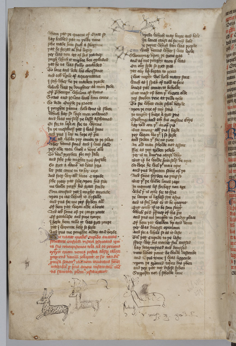 Confessio Amantis, Folio 171v