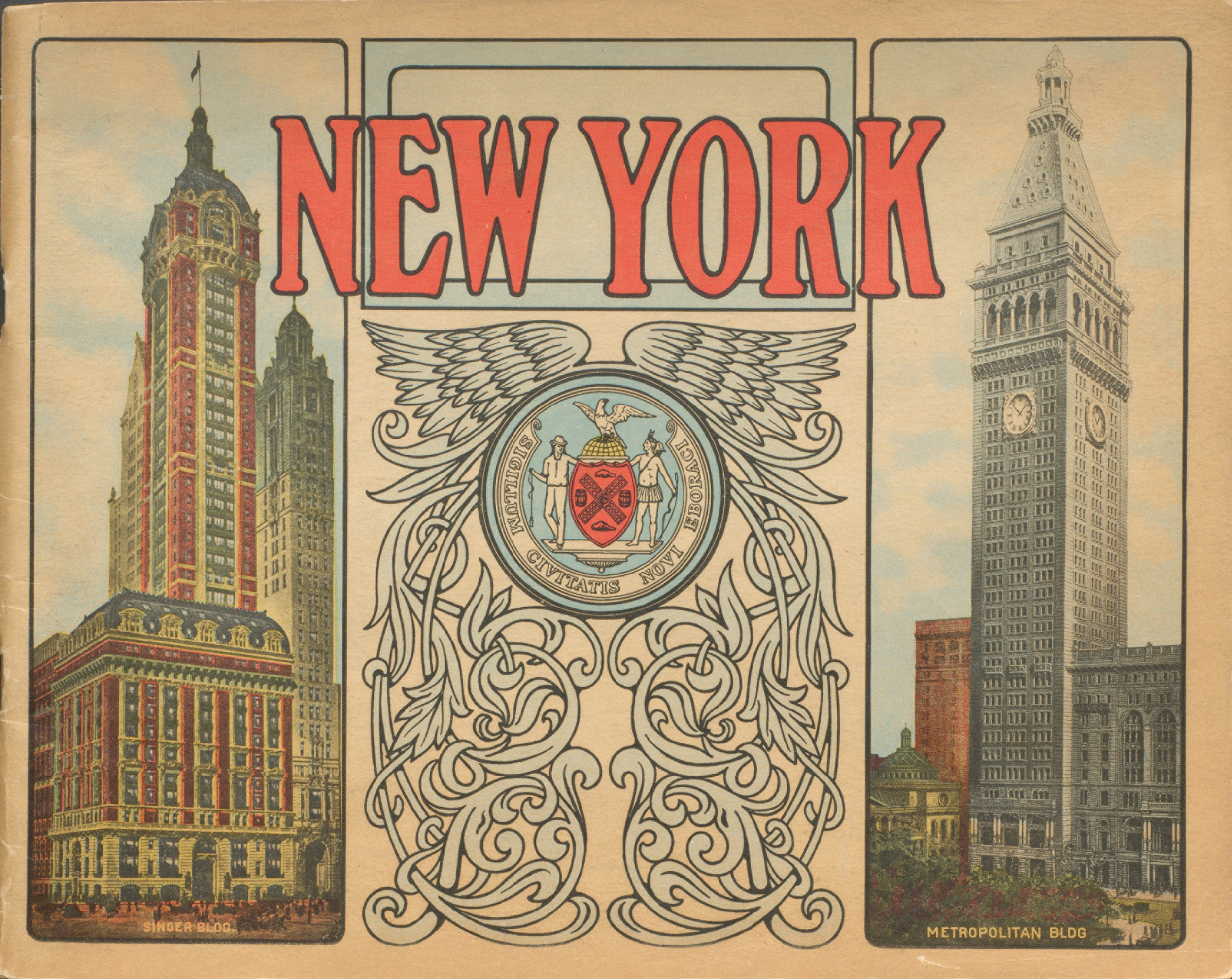 The City of New York. Cover.