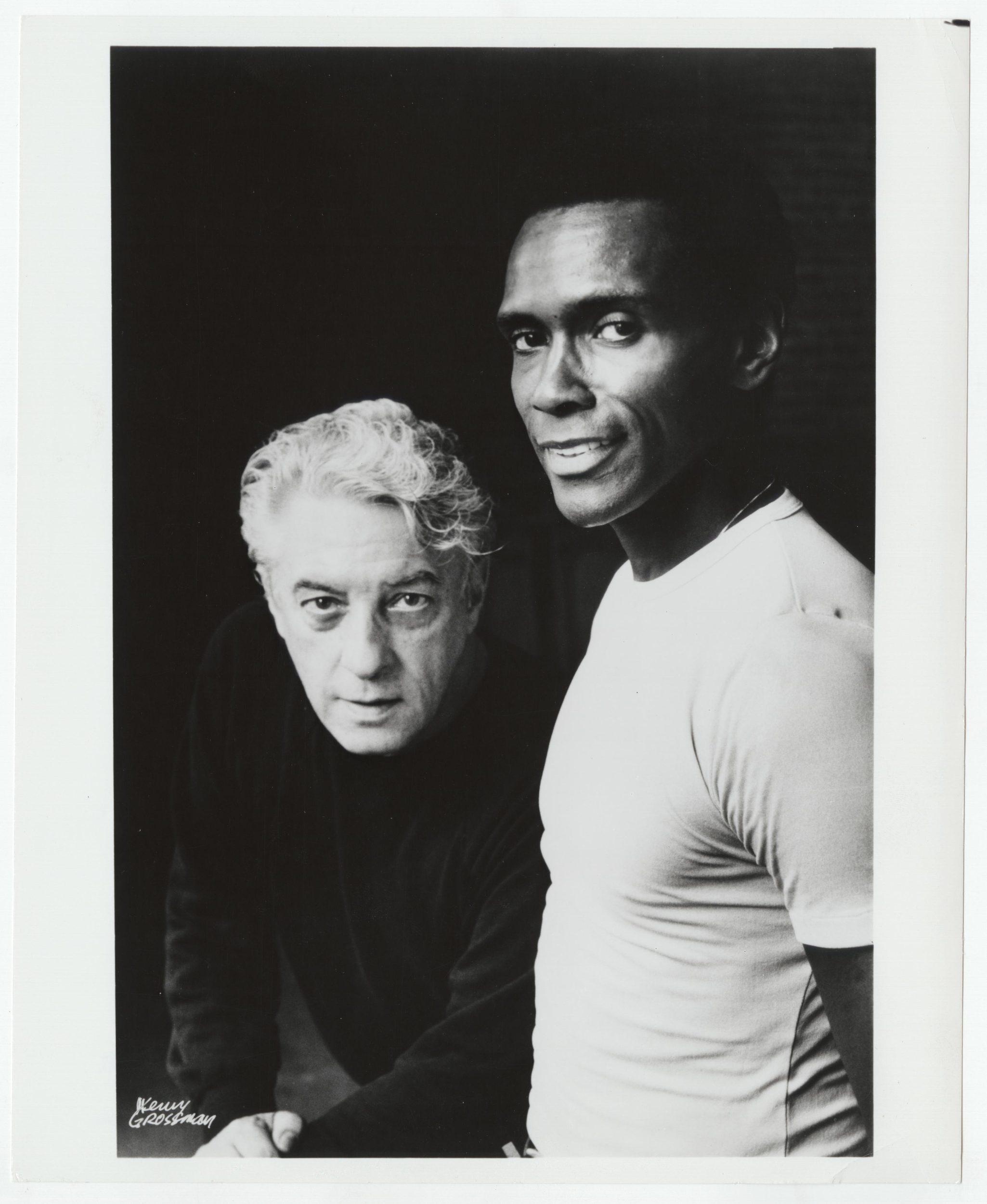 Arthur Mitchell and Karel Shook