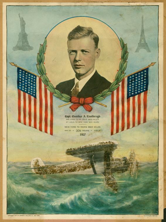 Charles A. (Charles Augustus) Lindbergh, 1902-1974
