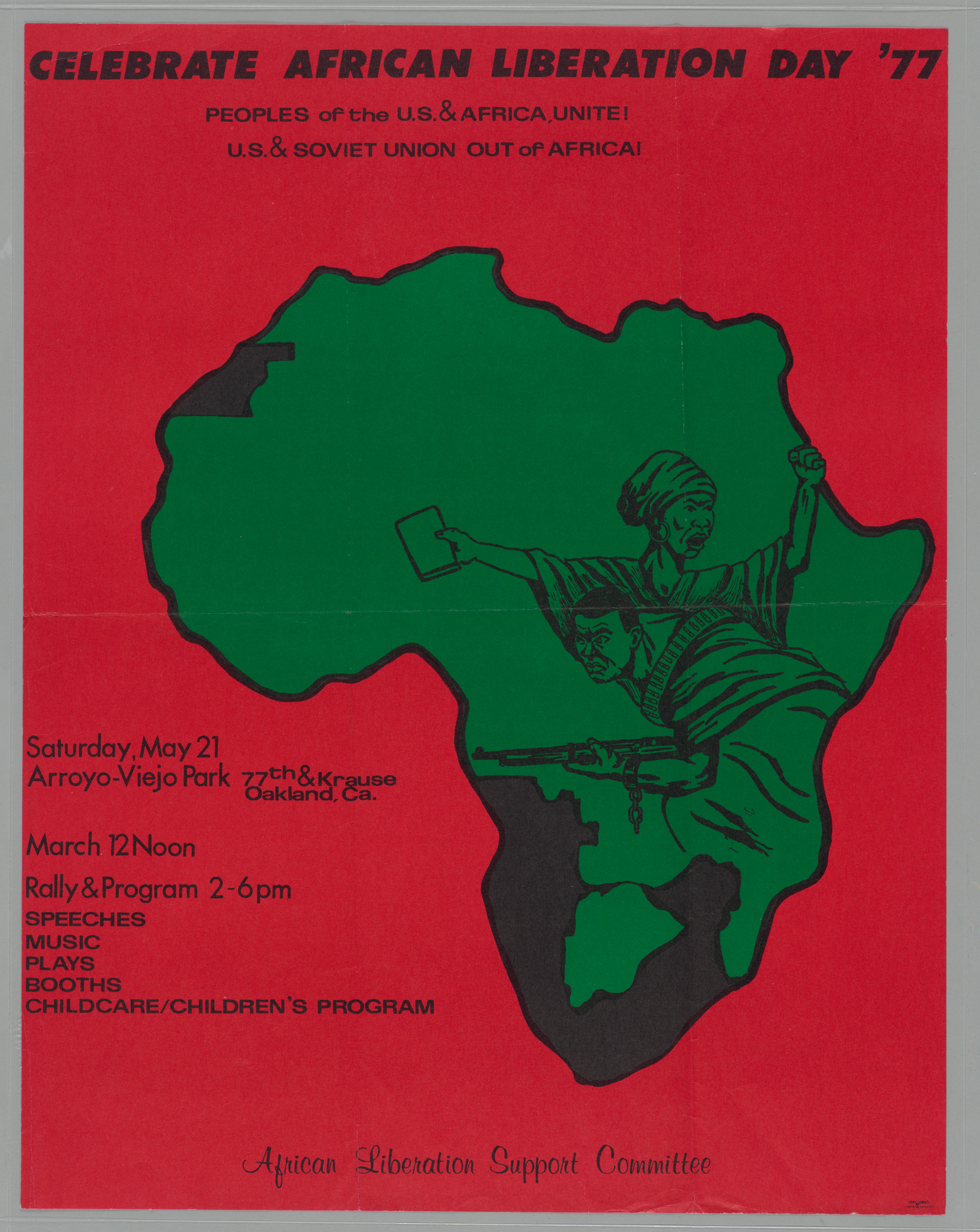 Celebrate African Liberation Day '77