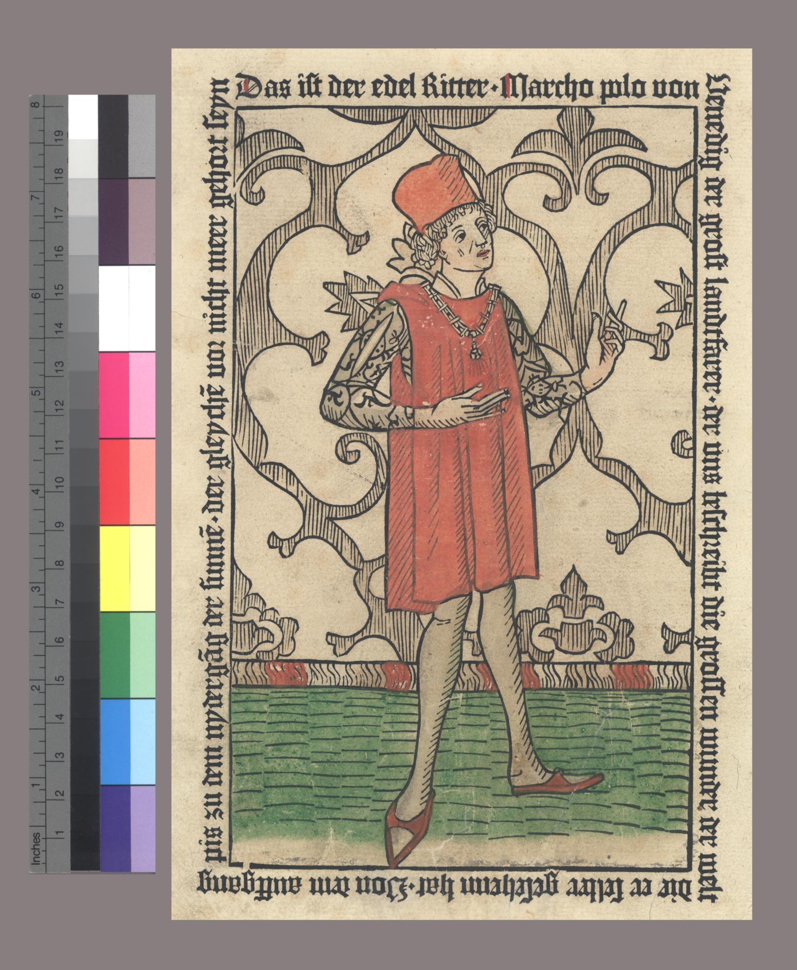 Buch des edeln Ritters und Landtfahrers Marco Polo