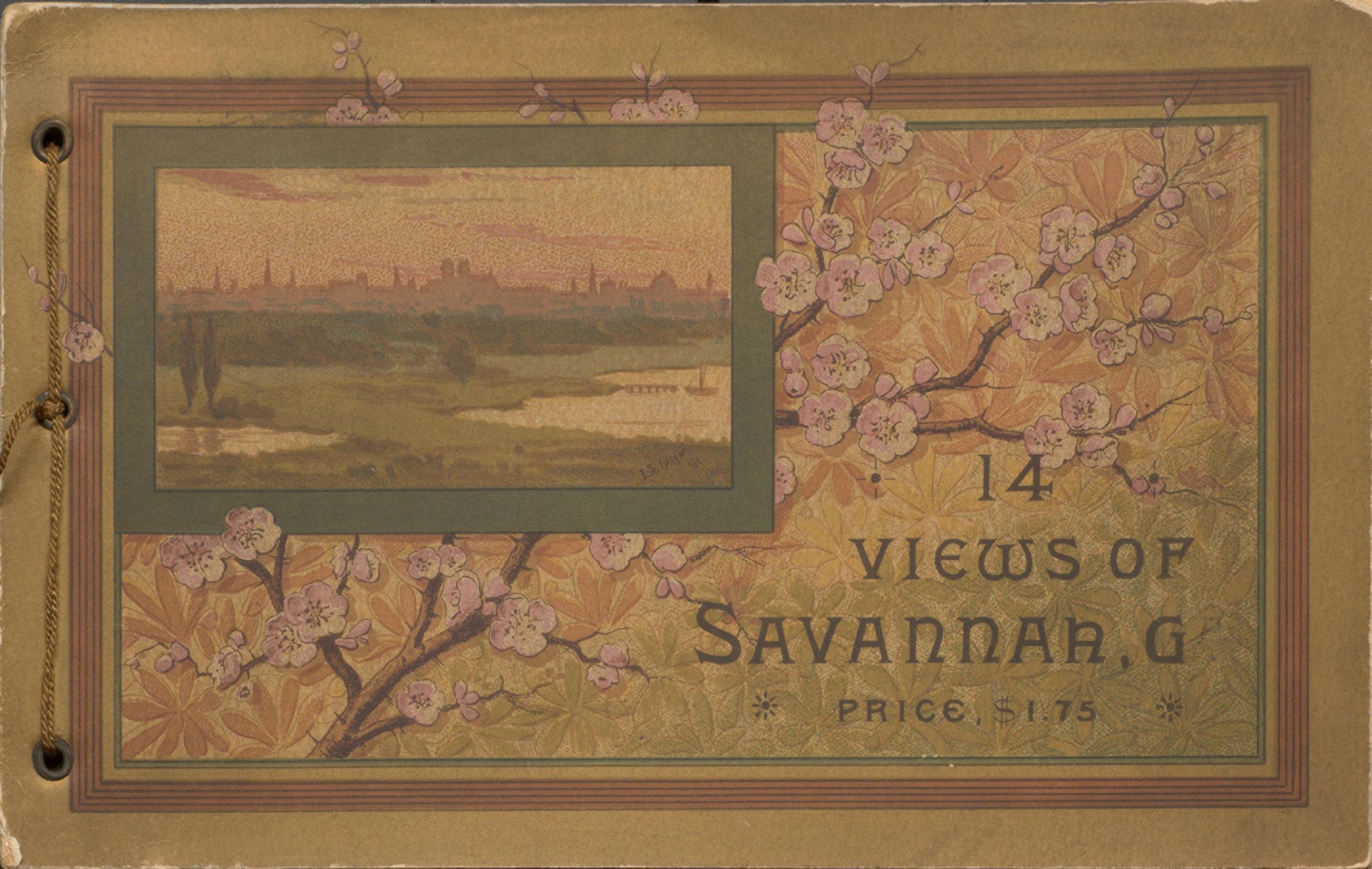 14 Views of Savannah, Ga. Cover.