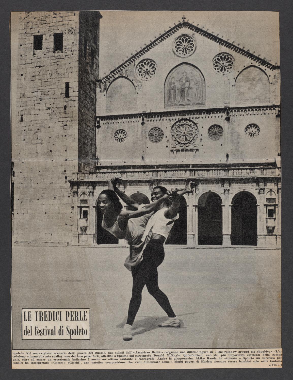 Le Tredici Perle del festival di Spoleto : Clipping