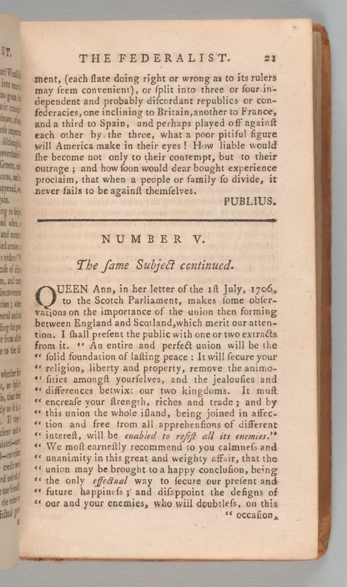 The Federalist , page 21