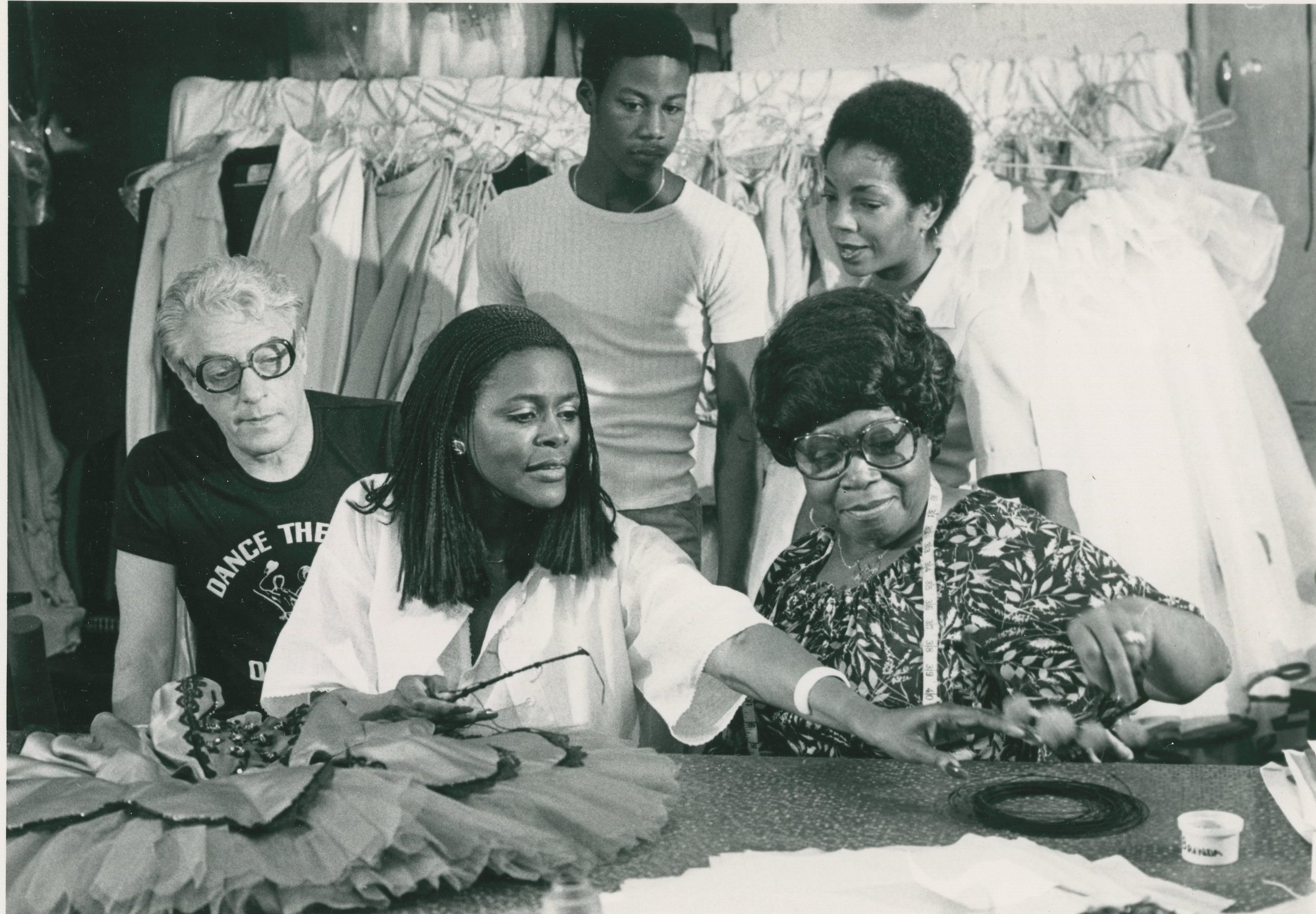 Karel Shook, Cicely Tyson, and Zelda Winn