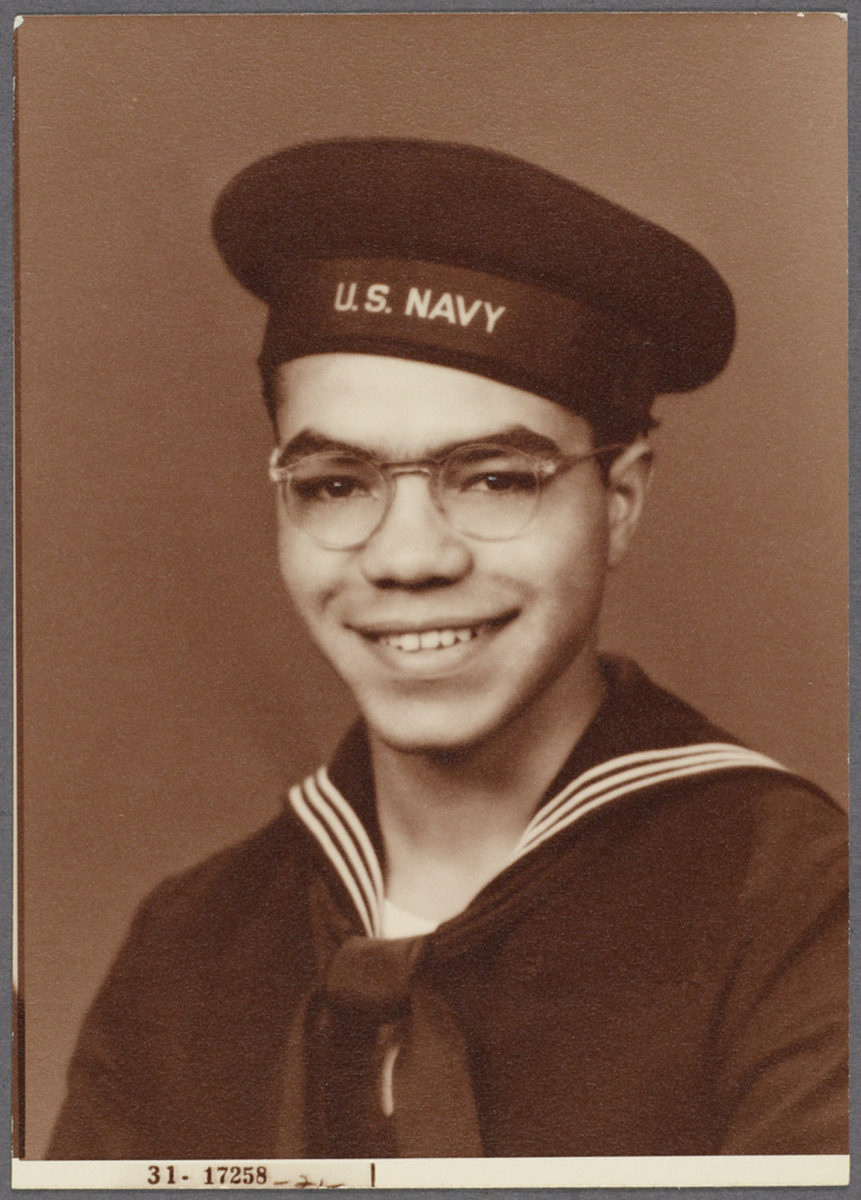 Ulysses Kay in Navy Uniform