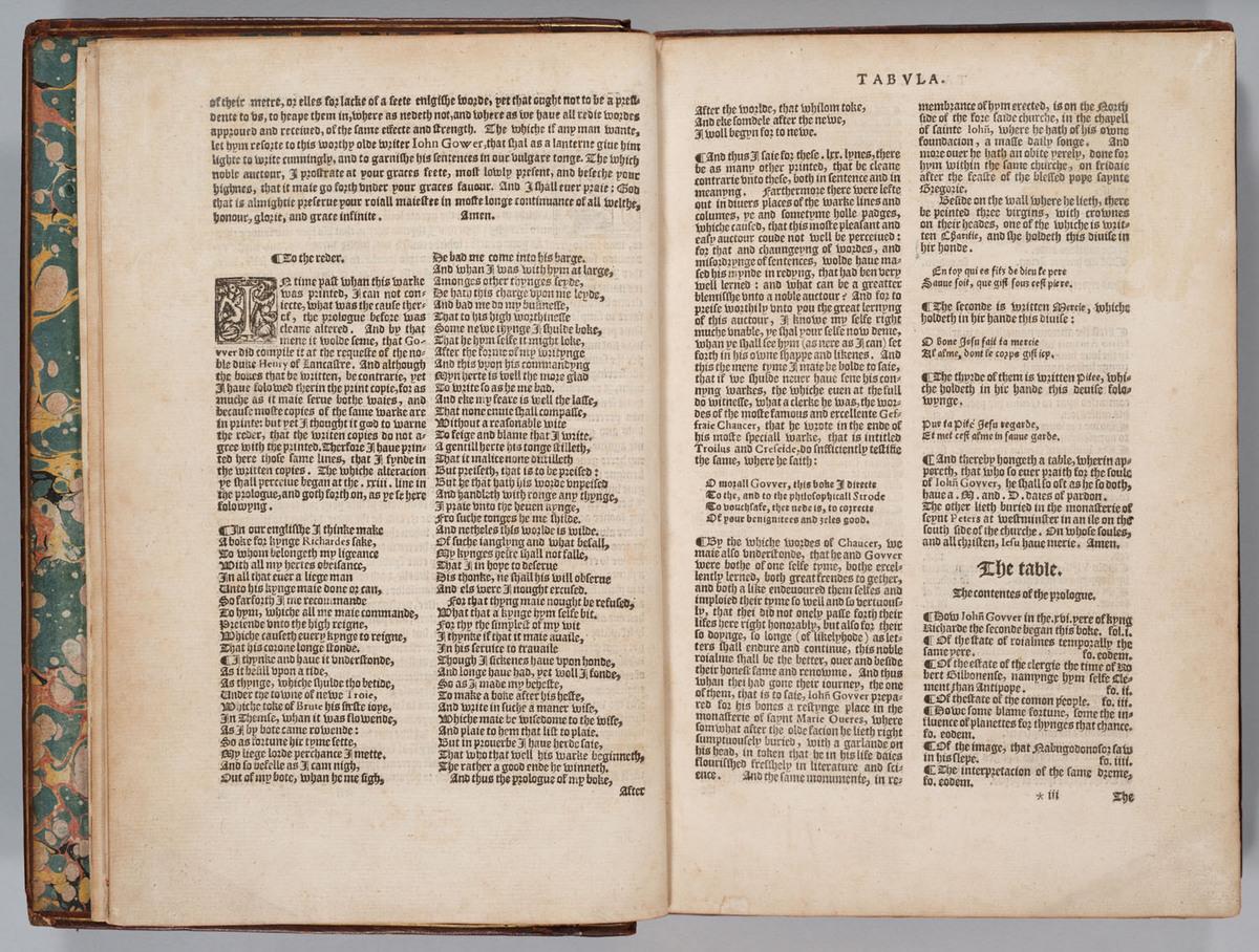 Confessio Amantis, 2v-3r