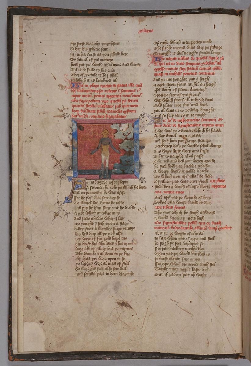 Confessio Amantis, Folio 1v