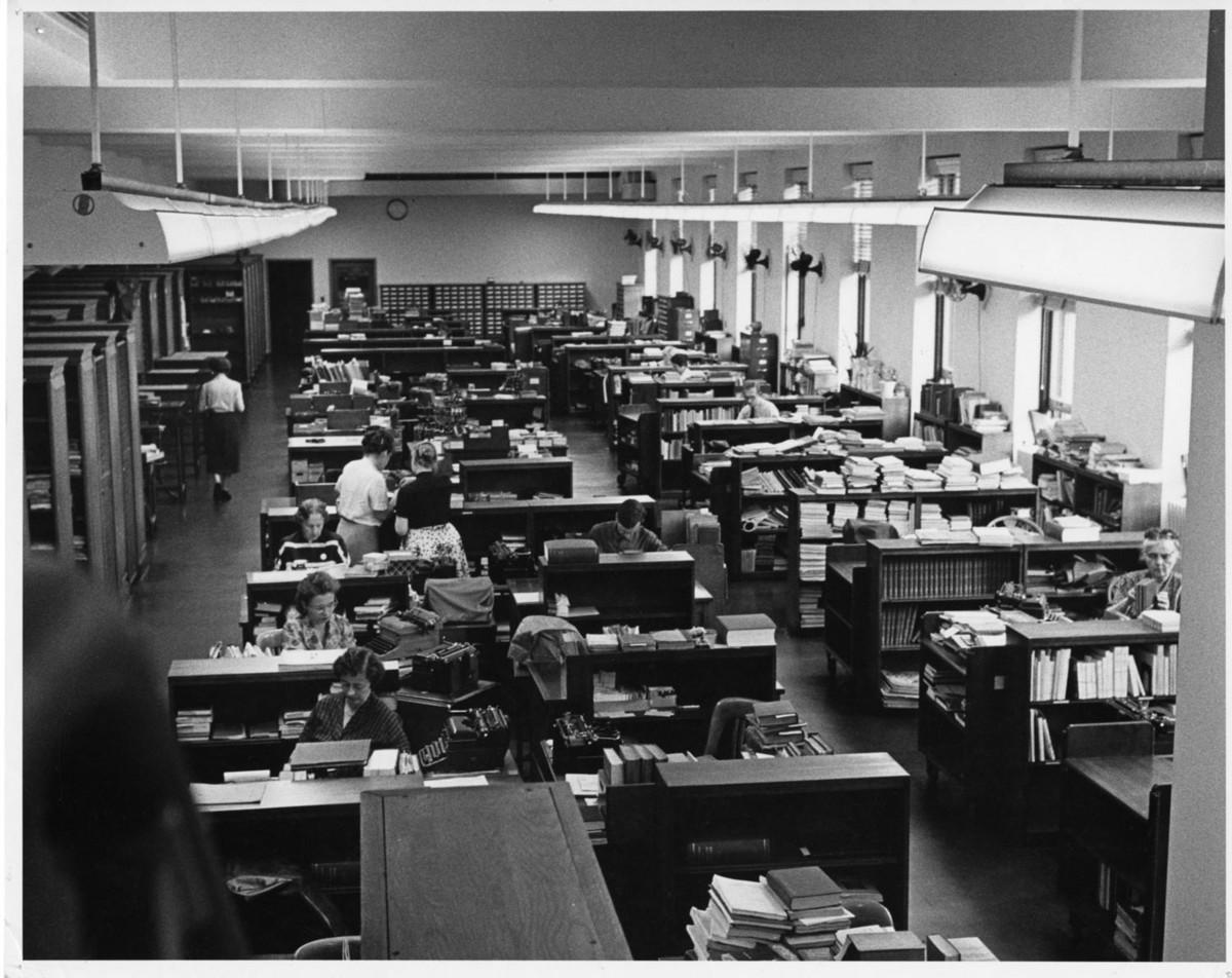 Cataloging Room