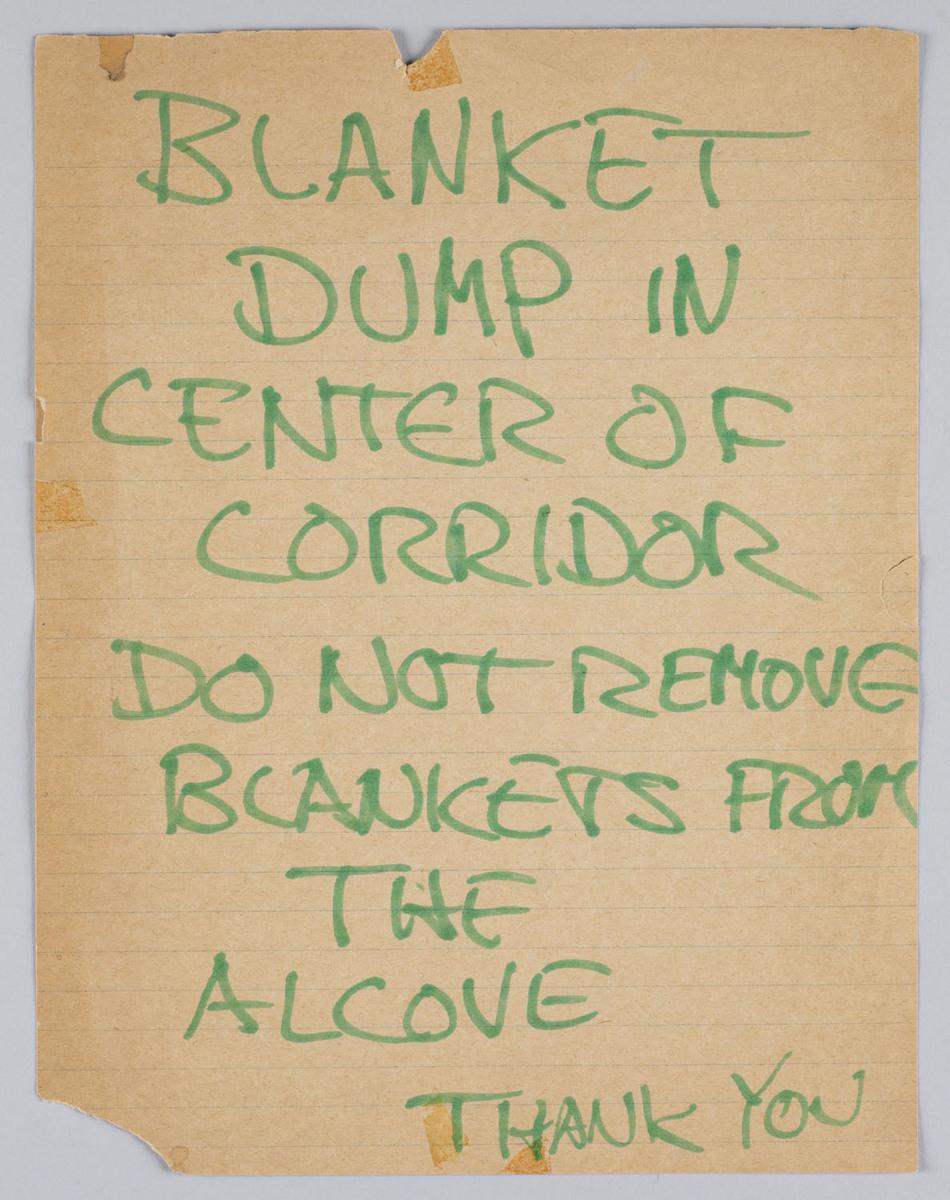 Blanket Dump