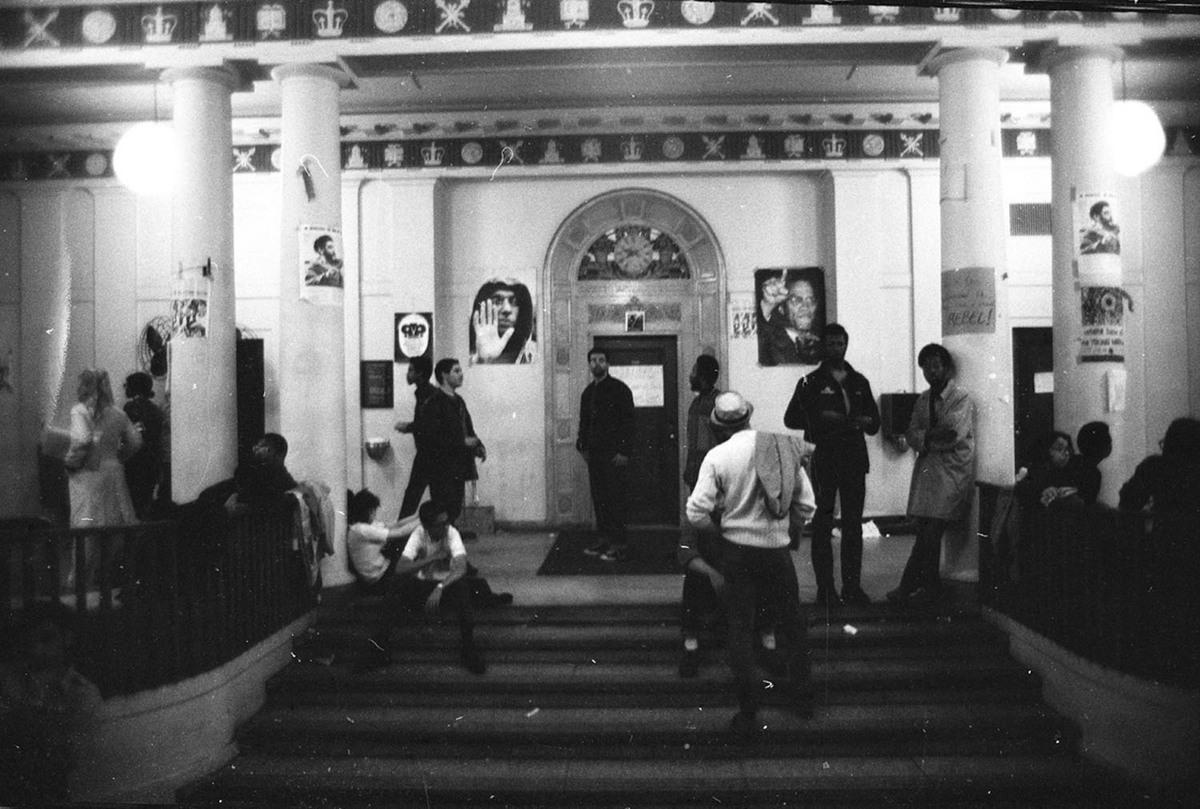Hamilton Hall Lobby