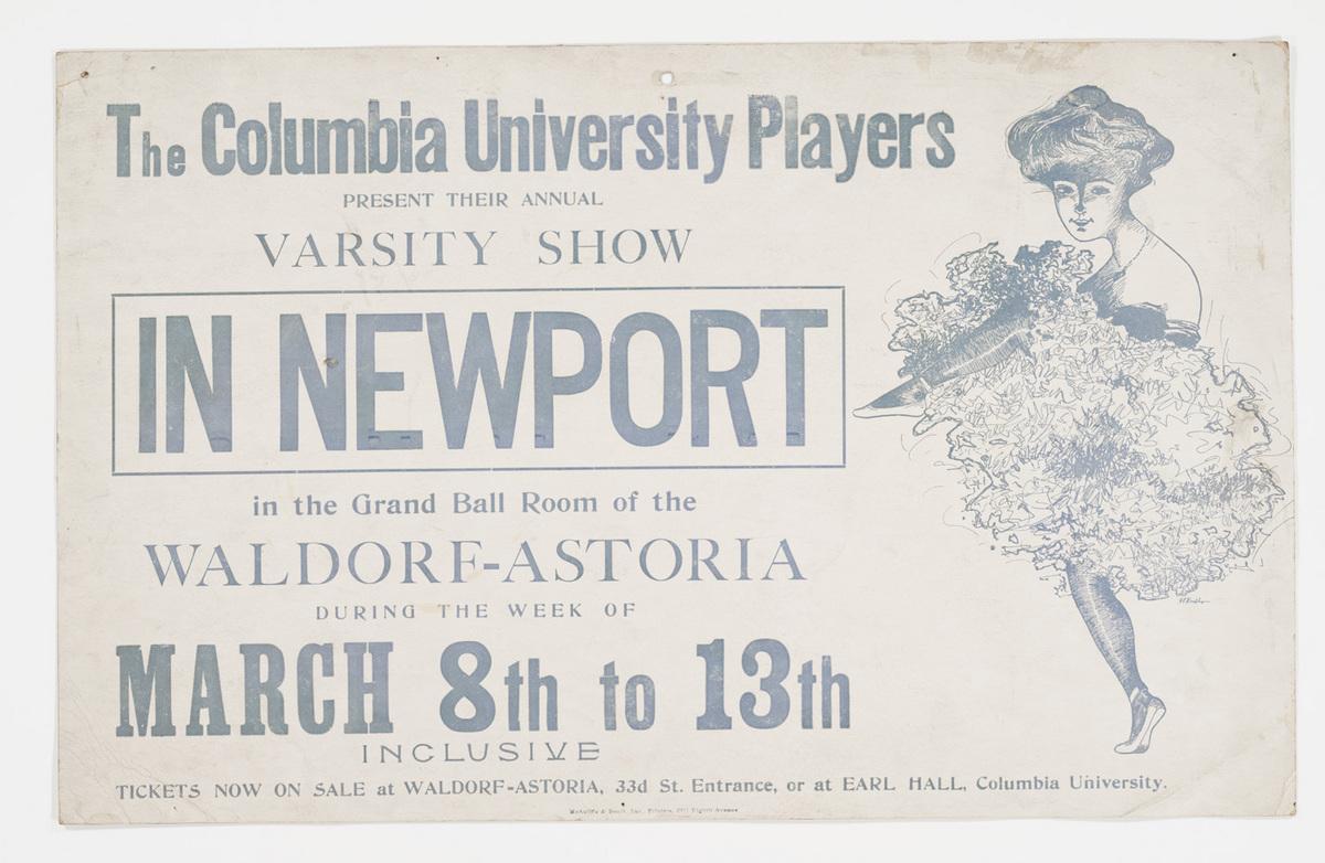 In Newport poster