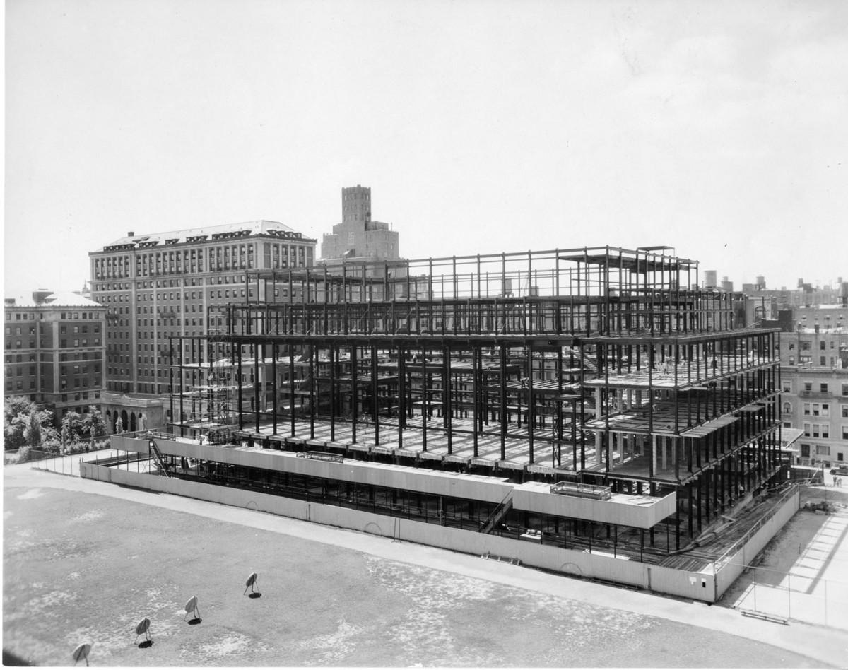 Butler Library Construction 9