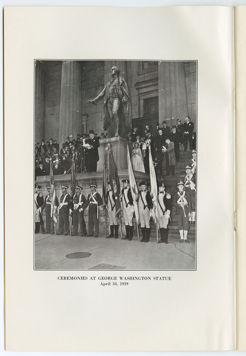 George Washington Ceremony
