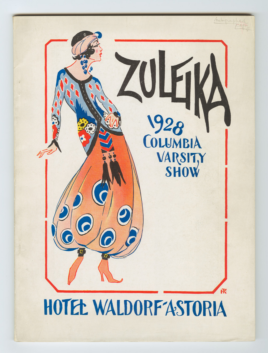 Zuleika program cover