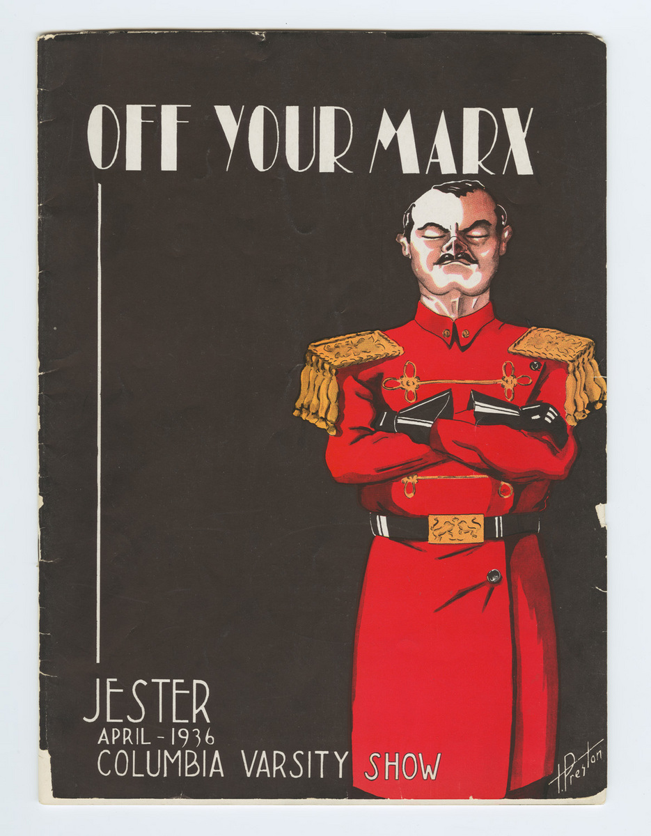 Off Your Marx program cover