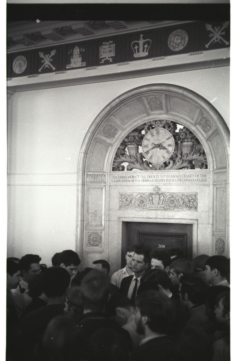 Harry Coleman in Hamilton Hall