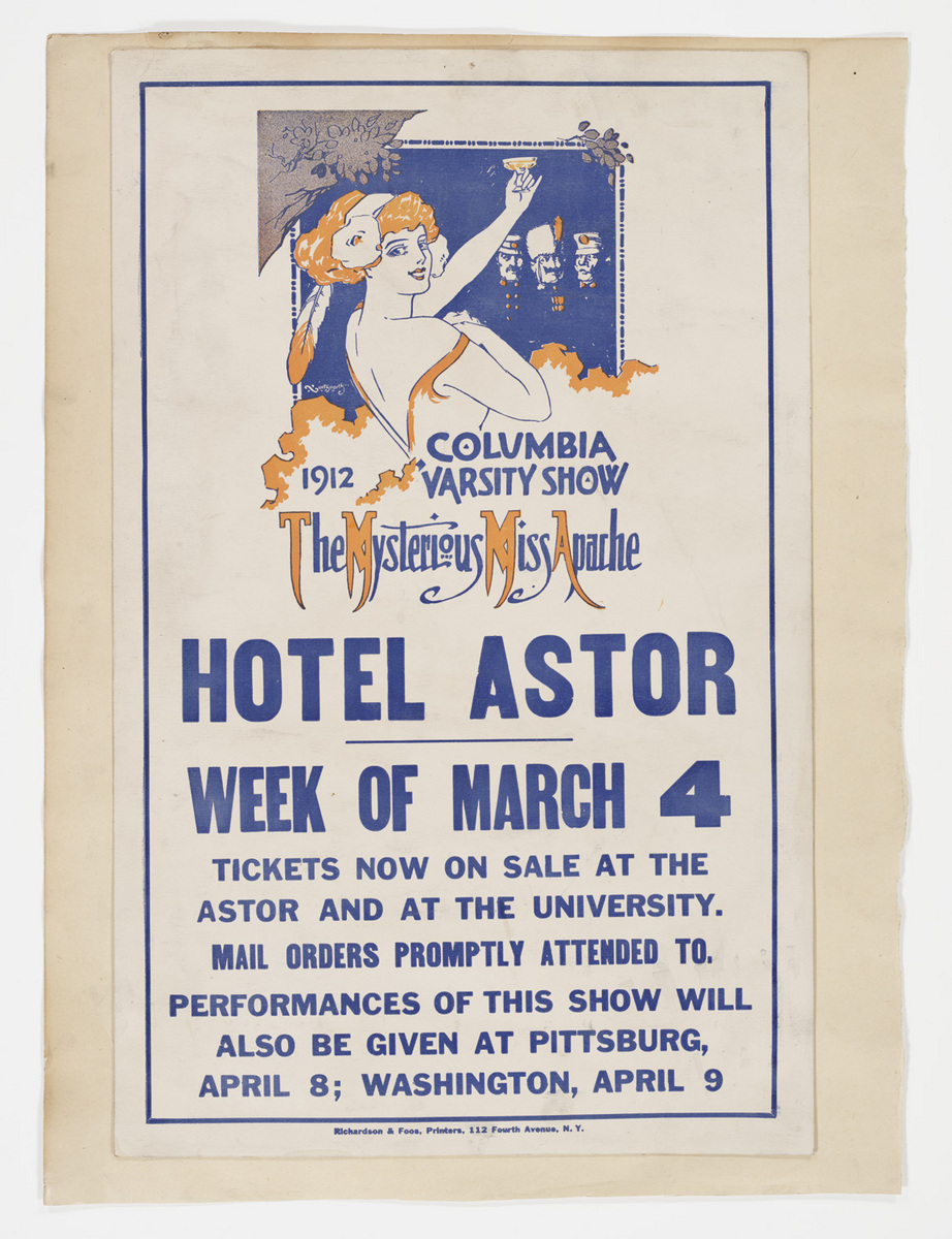 The Mysterious Miss Apache poster