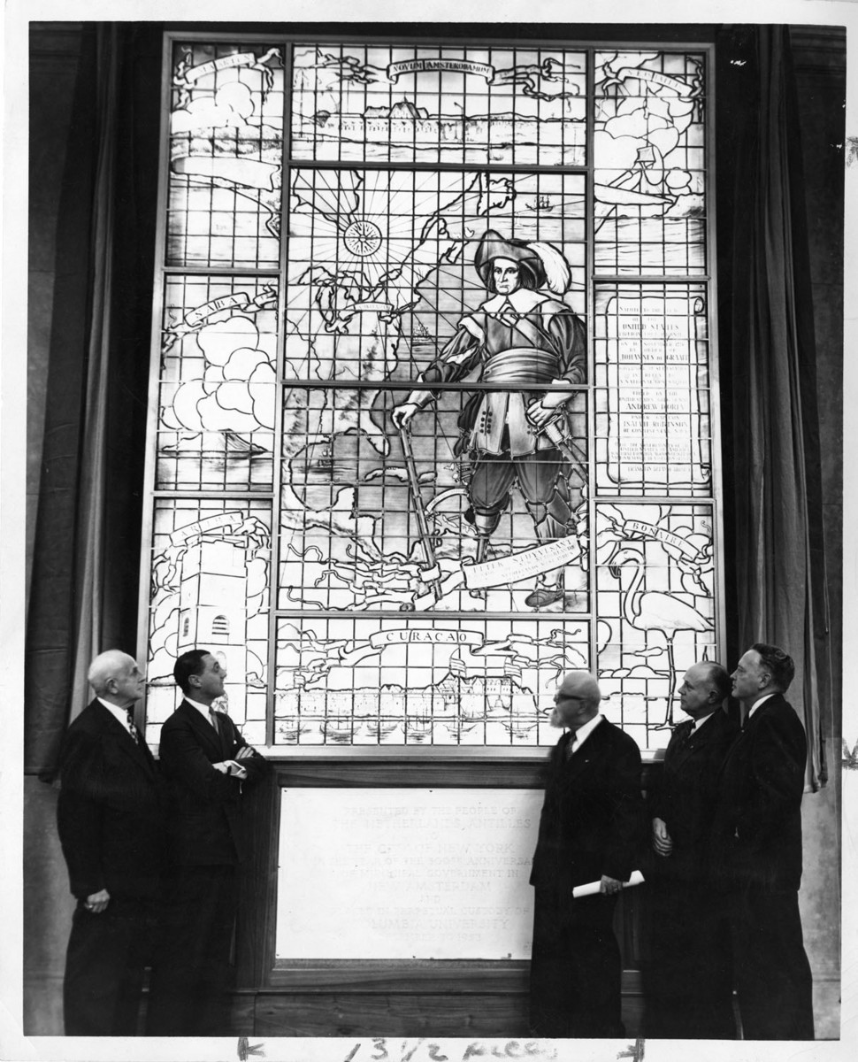 Peter Stuyvesant Stained Glass Window