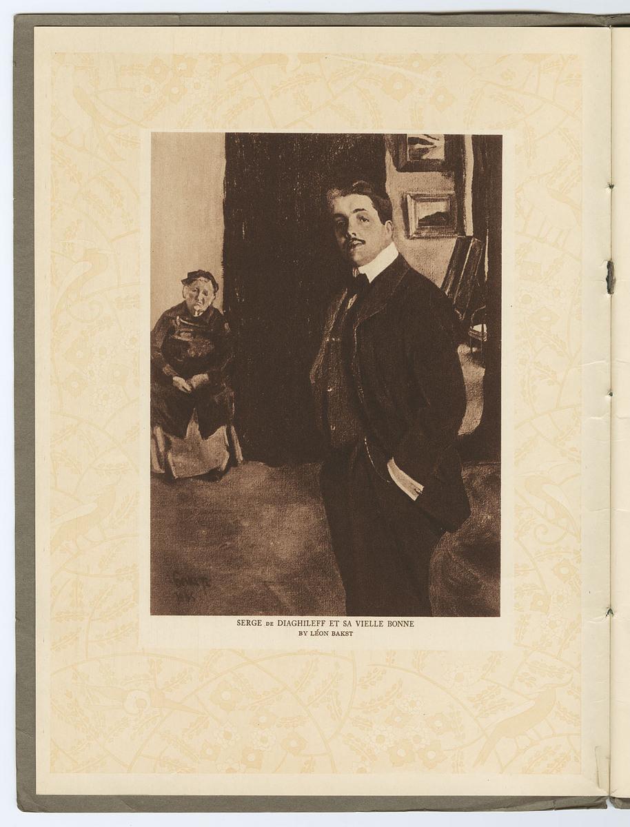 Souvenir: Serge de Diaghileff's Ballet Russe, unnumbered page 2