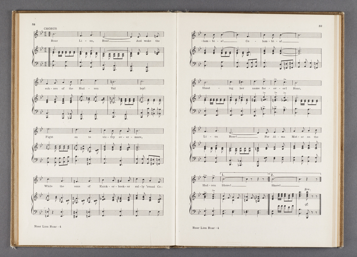 Columbia Song Book