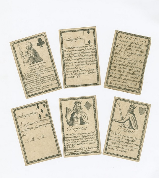 Gramaticall Cards, Comprising the Generall Rules of Lilley's Gramer