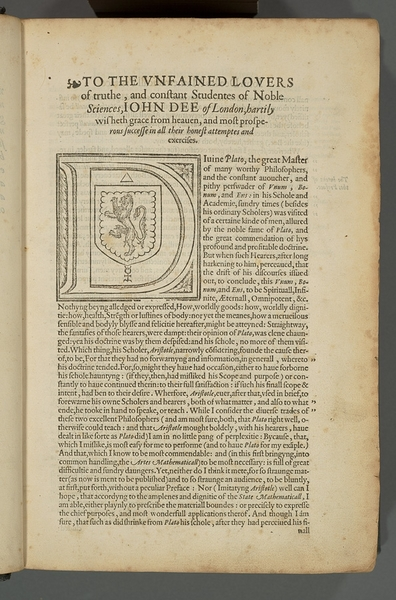 Elements of Geometrie of the most auncient philosopher Euclide of Megara