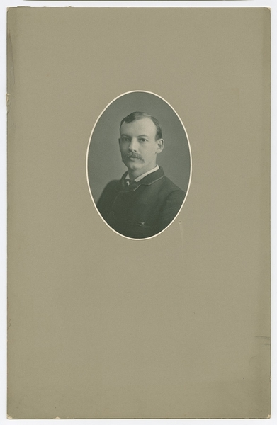 Portrait of George Arthur Plimpton as Younger Man
