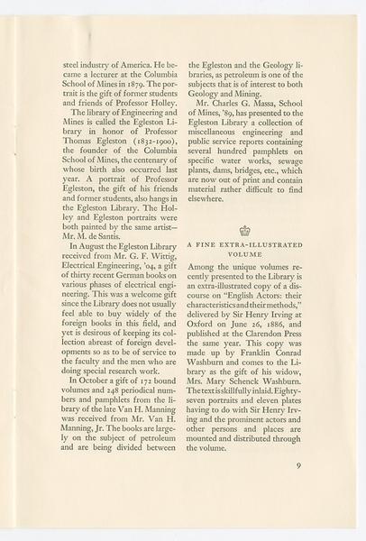 Bibliotheca Columbiana, Number 1, April 1933