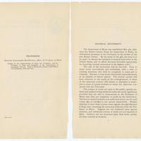 Faculty of Philosophy, Department of Music, Announcement for 1897-98, page 2-3