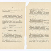 Faculty of Philosophy, Department of Music, Announcement for 1897-98, page 4-5
