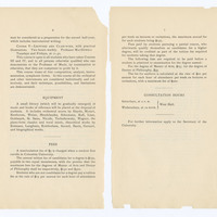 Faculty of Philosophy, Department of Music, Announcement for 1897-98, page 6-7