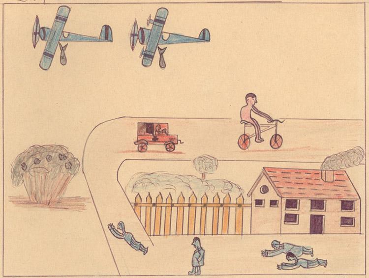 Children's Drawings of the Spanish Civil War
