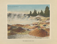 Yellowstone Park : the most noted national park in the world.