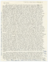 Typed letter signed, Allen Ginsberg to Lucien Carr