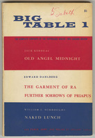 Big Table: 1, front cover