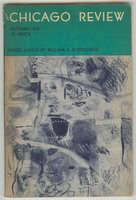 Chicago Review: Autumn 1958, front cover