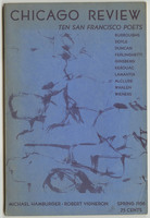 Chicago Review, Spring 1958, front cover