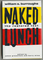 Naked Lunch, the Restored text, front cover