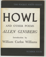 Howl, and other poems, front cover