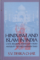 Hinduism and Islam in India : caste, religion, and society from antiquity to early modern times